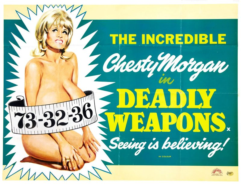Deadly Weapons (1974) (Chesty Morgan) Cult – Exploitation Full Movie