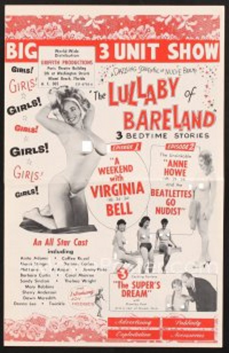 The Lullaby Of Bareland ( 1964) Full Uncencored Movie